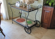 Wrought Iron Server Cart Milwaukee WI