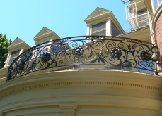 Wrought Iron Balcony Milwaukee WI