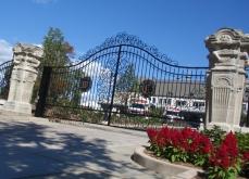 Wrought Iron Entry Gate Milwaukee WI