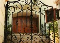 Ornate Wrought Iron Gate Milwuakee WI