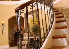 Wrought Iron Stair Railing Milwaukee WI