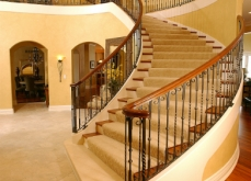 Curved Wrought Iron Railing Milwuakee WI