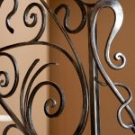 Close Up of Precision Iron Railing in WI