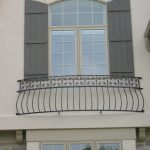 Custom Iron Balcony Window Design in Wisconsin