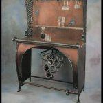 Custom Iron Bar & Wine Rack in WI