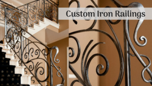 Custom Iron Railings in WI